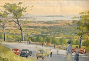 Brian Quinn (20th/21st Century), A View of Dublin Bay at Morgan O'Driscoll Art Auctions
