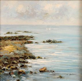 Harry Palson (20th/21st Century) English, Seascape at Morgan O'Driscoll Art Auctions