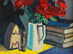 Brian Ballard RUA (b.1943), Still Life - Flowers in a Jug at Morgan O'Driscoll Art Auctions