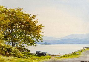 Frank Egginton RCA (1908-1990), Greenane Pier, Kenmare, Co. Kerry at Morgan O'Driscoll Art Auctions