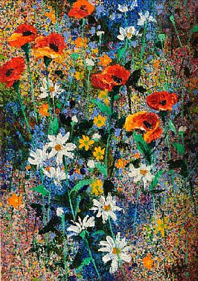 Kenneth Webb RWA FRSA RUA (b.1927), Wild Flowers at Morgan O'Driscoll Art Auctions