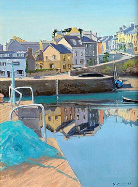 Cecil Maguire RHA RUA (1930-2020), The Harbour, Roundstone at Morgan O'Driscoll Art Auctions