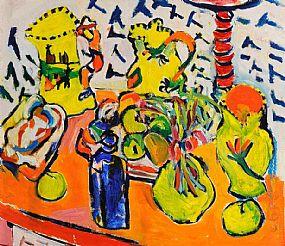 Elizabeth Cope (b.1952), Still Life at Morgan O'Driscoll Art Auctions