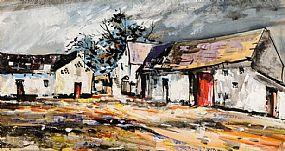Kenneth Webb RWA FRSA RUA (b.1927), The Farm Yard at Morgan O'Driscoll Art Auctions