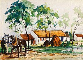 Kenneth Webb RWA FRSA RUA (b.1927), The Farmstead at Morgan O'Driscoll Art Auctions