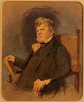 Sir Frederick William Burton RHA (1816-1900), Study of a Gentleman at Morgan O'Driscoll Art Auctions