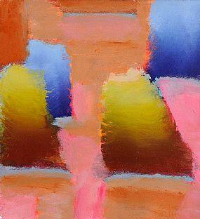 Coilin Murray (20th/21st Century), Abstract Garden Landscape at Morgan O'Driscoll Art Auctions