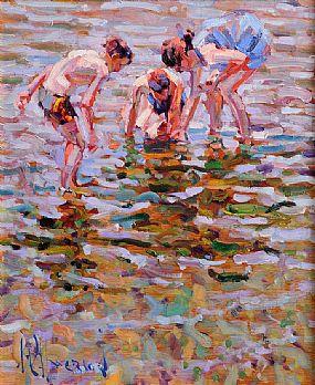 Arthur K. Maderson (b.1942), Close Inspection, Ardmore at Morgan O'Driscoll Art Auctions