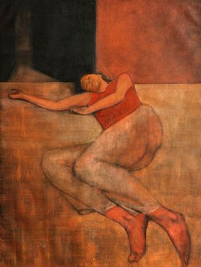 Brian Smyth (b.1967), Reclining Figure at Morgan O'Driscoll Art Auctions