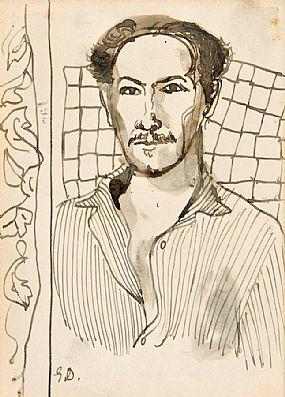 Gerard Dillon RHA RUA (1916-1971), Self Portrait at Morgan O'Driscoll Art Auctions
