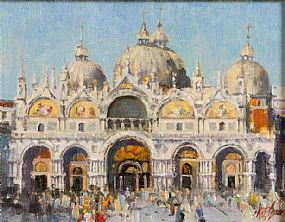 Mat Grogan (20th/21st Century), Basilica San Marco at Morgan O'Driscoll Art Auctions