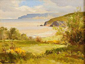 Maurice Canning Wilks ARHA RUA (1911-1984), Above Cushendun, Co. Antrim at Morgan O'Driscoll Art Auctions
