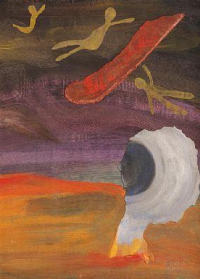 Gerard Dillon RHA RUA (1916-1971), Watching & Waiting at Morgan O'Driscoll Art Auctions