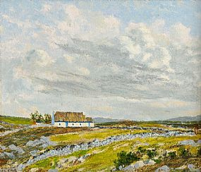 Ciaran Clear (20th/21st Century), Cottage in Donegal at Morgan O'Driscoll Art Auctions
