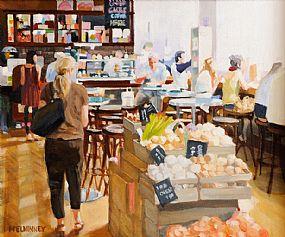 David McElhinney (b.1972), The Food Hall at Morgan O'Driscoll Art Auctions