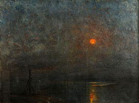 John Crampton Walker (1890-1942), Sunset at Morgan O'Driscoll Art Auctions