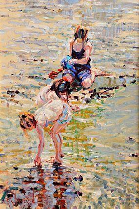 Arthur K. Maderson (b.1942), Clonea Strand at Morgan O'Driscoll Art Auctions