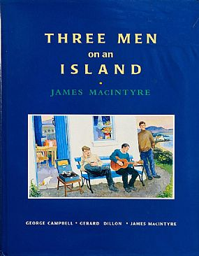 James MacIntyre, Three Men on an IslandGeorge Campbell - Gerard Dillon - James MacIntyre at Morgan O'Driscoll Art Auctions