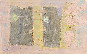 Tony O'Malley HRHA (1913-2003), Bahamas - Grey & Pink at Morgan O'Driscoll Art Auctions