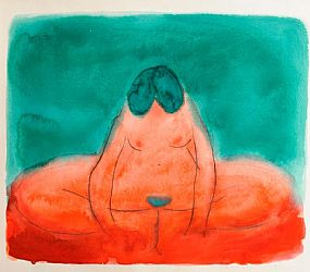Neil Shawcross RUA (b.1940), Nude Study at Morgan O'Driscoll Art Auctions