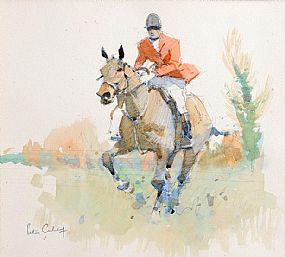 Peter Curling (b.1955), The Huntsman at Morgan O'Driscoll Art Auctions