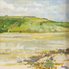 Peter Curling (b.1955), Clonakilty Bay, West Cork at Morgan O'Driscoll Art Auctions