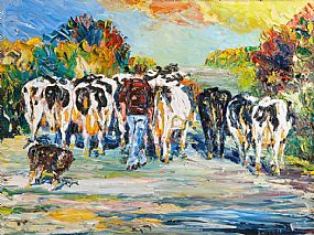 Liam O'Neill (b.1954), Seo Libh at Morgan O'Driscoll Art Auctions
