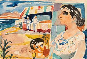Gerard Dillon RHA RUA (1916-1971), Icecream Seller West of Ireland at Morgan O'Driscoll Art Auctions