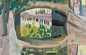 Evie Hone HRHA (1894-1955), Canal Bridge at Morgan O'Driscoll Art Auctions