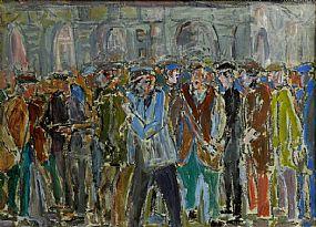 John Thompson (1924-2011) British, The Gathering at Morgan O'Driscoll Art Auctions
