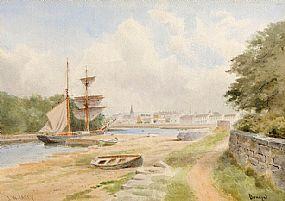 Joseph William Carey RUA (1859-1937), Donegal Town at Morgan O'Driscoll Art Auctions