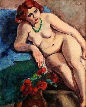Renee Honta (d.1955), Nude Study at Morgan O'Driscoll Art Auctions