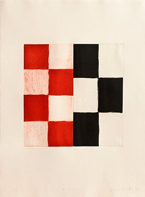Sean Scully (b.1945), Barcelona Diptych 2 at Morgan O'Driscoll Art Auctions