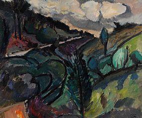 Peter Collis RHA (1929-2012), Wicklow Landscape at Morgan O'Driscoll Art Auctions