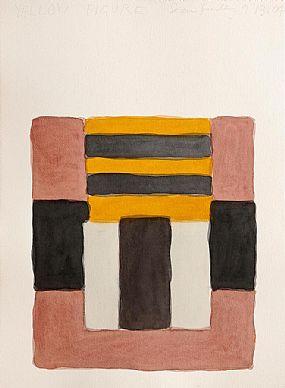 Sean Scully (b.1945), Yellow Figure at Morgan O'Driscoll Art Auctions