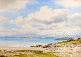 Frank Egginton RCA (1908-1990), Glassilaun Strand, Connemara at Morgan O'Driscoll Art Auctions