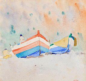 James Nolan RHA (b.1929), Mediterranean Suite, Burriana at Morgan O'Driscoll Art Auctions