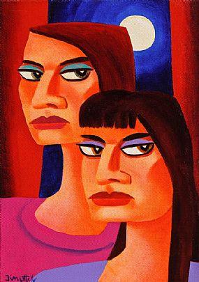 Graham Knuttel (b.1954), Under Moonlight at Morgan O'Driscoll Art Auctions