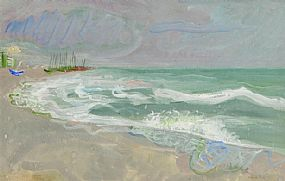 Nano Reid RHA (1905-1981), Incoming Tide at Morgan O'Driscoll Art Auctions