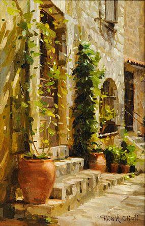 Mark O'Neill (b.1963), Old Town Terracotta II at Morgan O'Driscoll Art Auctions