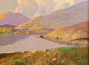 George Gillespie RUA (1924-1996), Reflections, Near  Lenanne, Co Mayo at Morgan O'Driscoll Art Auctions
