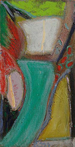 Tony O'Malley HRHA (1913-2003), Garden at Physicianstown 1990 at Morgan O'Driscoll Art Auctions