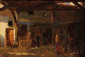 Walter Frederick Osborne RHA (1859-1903), An Interior of a Coach House at Morgan O'Driscoll Art Auctions