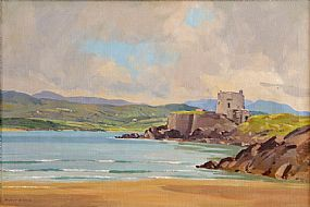 Robert Taylor Carson HRUA (1919-2008), Lough Swilly, Co. Donegal at Morgan O'Driscoll Art Auctions
