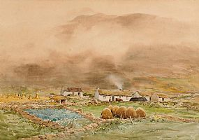 Frank Egginton RCA (1908-1990), Near Kilcar Co. Donegal at Morgan O'Driscoll Art Auctions