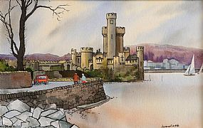 Kenneth Webb RWA FRSA RUA (b.1927), Blackrock Castle, Cork at Morgan O'Driscoll Art Auctions