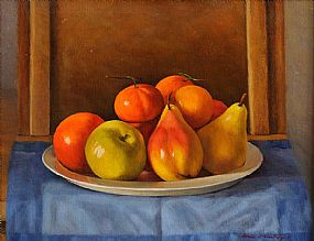 Therese McAllister (b.1951), Still Life with Fruit at Morgan O'Driscoll Art Auctions