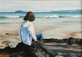 Ronan Goti (20th/21st Century), Breaking Waves, Portmarnock at Morgan O'Driscoll Art Auctions