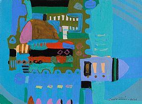 Padraig MacMiadhachain RWA (b.1929), Dancing in the Nights of Ribbons, Asilah, Morocco at Morgan O'Driscoll Art Auctions