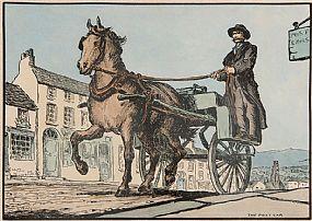 Jack Butler Yeats RHA (1871-1957), The Post Car at Morgan O'Driscoll Art Auctions